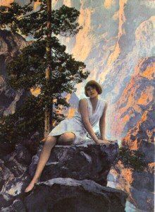 Solitude (1931) by Maxfield Parrish